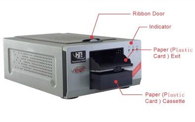 Máy in thẻ sticker  Hiti Amphi 640